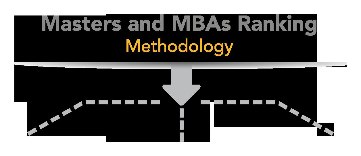 Masters and MBA Ranking - Methodology